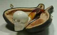 Medium Skull Meerschaum Pipes