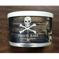 Pirate Kake 2 oz TIN A smooth, robust blend with a lot of exceptional Latakia accompanied by Turkish and Cavendish cut Burley. A blend for the Latakia lover.