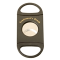 With its custom dual blade construction, the Craftsman's Bench Double Blade Cigar Cutter is designed for equal pressure to be applied to both sides of the cigar.