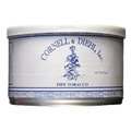 #107 Haunted Bookshop pipe tobacco is a Burley and Virginia blend with just a touch of Perique.