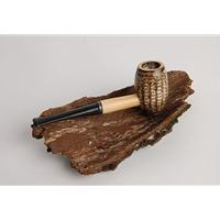 Missouri Meerschaum Country Gentleman Corncob Pipe Straight