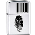 I.D. High Polish Chrome Zippo