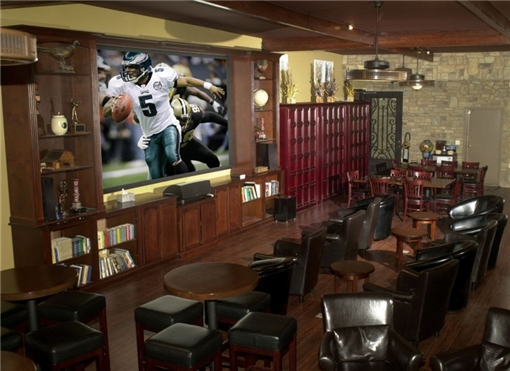 Our spacious cigar lounge